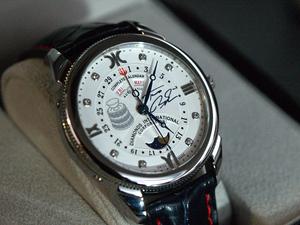 D.I.C. předalo luxusní hodinky Tomáši Berdychovi 688aeae287