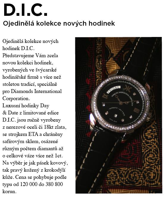 Hodinky DIC v časopise Formen 9380d92ecc